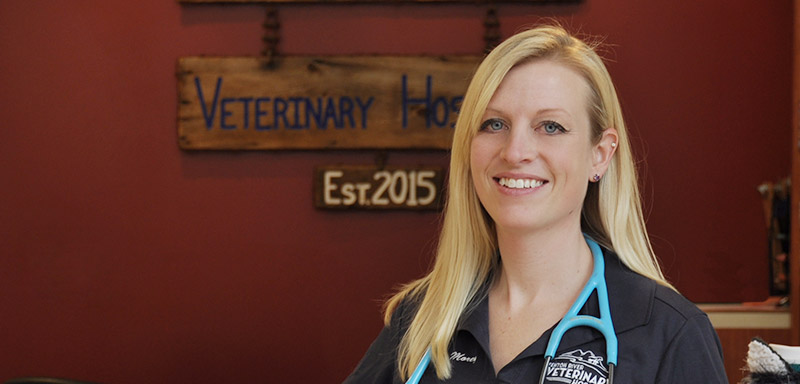 Dr. Heidi Morey of Fenton River Veterinary Hospital