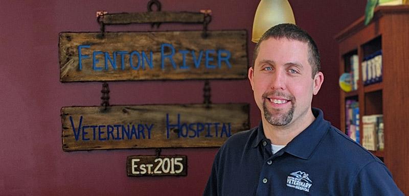 Dr. Scott Morey Veterinarian at Fenton River Veterinary Hospital